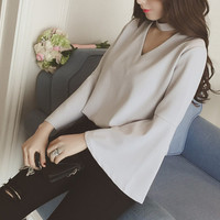 Womens Camfortable Blouse Shirt Summer Gift 26