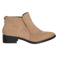Verona Suede Ankle Boots-FINAL SALE