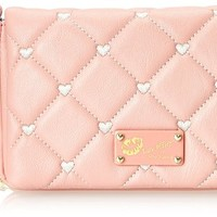 LUV BETSEY by Betsey Johnson Touch My Heart Cross Body Bag