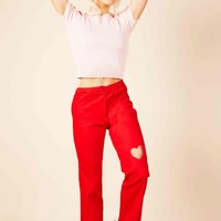 Mi Amour Pants (Red)