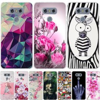 Cool Design For LG G6 G5 G4 Case 3D Soft TPU Shell For LGG6 LG G4 G5 G6 Cover Coque For LG G 6 G6 G5 G4 Beat G4S Phone Cases