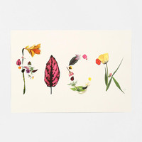 Kate Worum Expressive Floral Art Print - Urban Outfitters