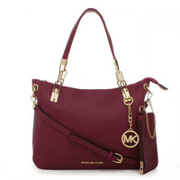 MICHAEL KORS  Women Shopping Fashion Leather Chain Satchel Shoulder Bag Crossbody  G-LLBPFSH