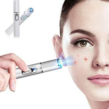 Ance Scar blemishes Pimples Swelling Zits Redness Inflammation Removal Therapy Machine Laser Treatment Pen