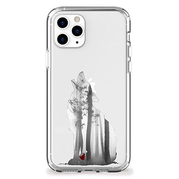The Wolf and Red Riding Hood iPhone Case
