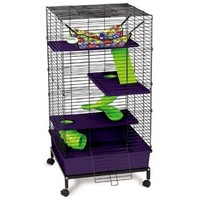Super Pet My First Home 2 x 2 Multi Level Deluxe Cage Small Pet Cages