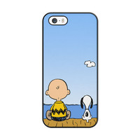 Snoopy And Charlie Brown iPhone 5|5S Case