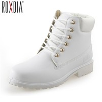ROXDIA autumn winter women ankle boots new fashion woman snow boots f
