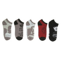 Supernatural No-Show Socks 5 Pair