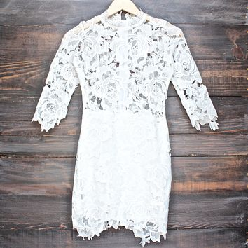 Lioness - Killer Lace Dress in White