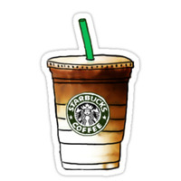 'starbucks ' Sticker by emilyweis1001