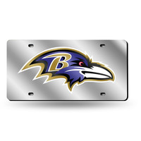 Baltimore Ravens NFL Laser Cut License Plate Tag