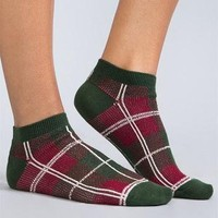 Simply Noelle Perfectly Plaid Ankle Socks