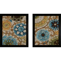 Rec Suzanni Song Wall Art Set of 2