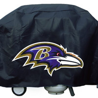 Baltimore Ravens Economy Barbeque Grill Cover