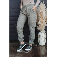 Go Getter Cargo Joggers (Olive)