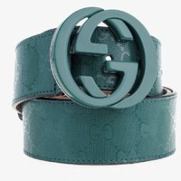 Gucci Authentic Interlocking Double G Belt