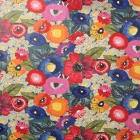 Blazing Poppies Wallpaper by Anthropologie in Multi Size: One Size Decor
