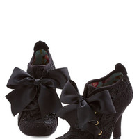 Irregular Choice French Strut You Wanted Heel in Black