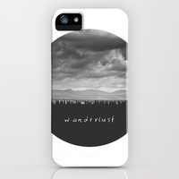 Wanderlust iPhone & iPod Case by Dustin Hall