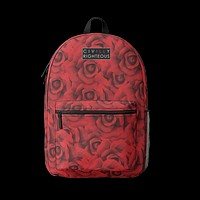 Rose From Nothing - Retro Backpack