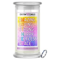 What 'Mother' Spells Jewelry Greeting Candle