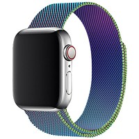 Multicolor Milanese Apple Watch Band