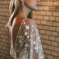 Glitter and Stars Fairy Style Gown
