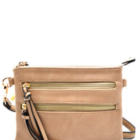 Perfect For Shopping Crossbody Bag - Taupe Available 4/1/17