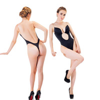 Sexy Backless Deep plunging Evening dress/Party Dress Shaper Clear Strap Plunge Thong Body Shapers Women's U Plunge BodySuit