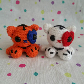 Little Tiger & Little Deer patterns are now available on my shops ... | 354x354
