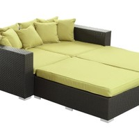 Palisades All-Weather Wicker Daybed | www.hayneedle.com