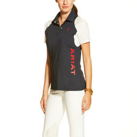Ariat Ladies Team Cambria Polo Shirt - Navy