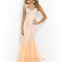 Sweetheart Beaded Blush Prom Dress 9913