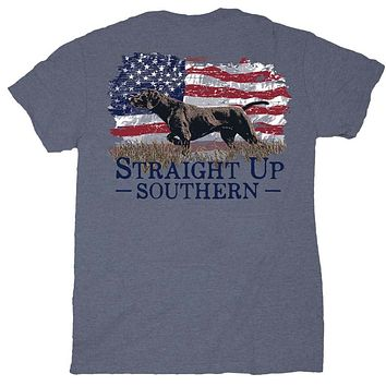 Pointer Flag Tee by Straight Up Southern