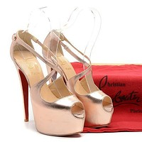 Cl Christian Louboutin Fashion Heels Shoes-151