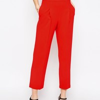 ASOS Occasion High Waist Tailored Peg Pant Co-ord