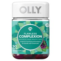 Olly Flawless Complexion Dietary Supplement Gummies - Berry Fresh - 50ct