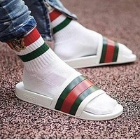 GG Woman Men Fashion Casual Sandals Slipper Shoes