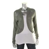 Rubbish Womens Cotton Open Front Cardigan Sweater