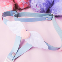 Pastel Angel Wings Garter