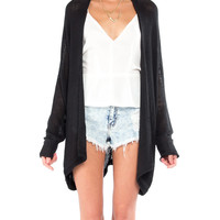 Open Oval Back Cardigan - 2020AVE