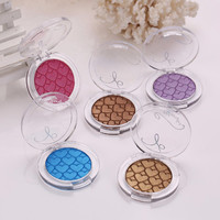 single glitter eyeshadow make up peach palette naked urban makeup pallete pigment eye shadow
