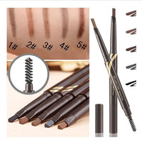 2016 beverly hills ABH makeup Durable waterproof natural eyebrow pencil gel pomade brow pomade    brushes eyebrow powder