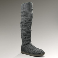 UGG® Over the Knee Twisted Cable for Women   Thigh High Knit Boots at UGGAustralia.com
