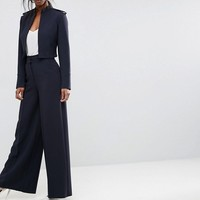 ASOS Tailored Cropped Military Style Blazer at asos.com