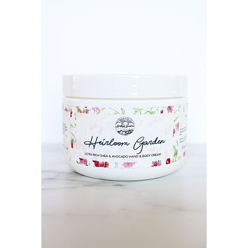 Heirloom Garden - Shea & Avocado Body Cream