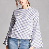 Compania Fantastica Gingham Top