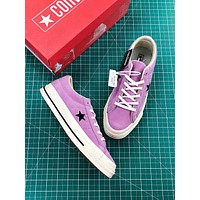 Converse One Star Pro Suede Low Top Purple Shoes