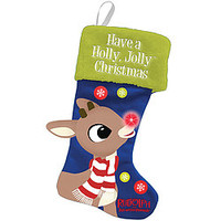 Rudolph The Red Nosed Reindeer LED Christmas Stocking